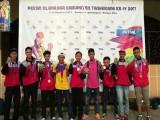 Raih Medali Emas di Porkab Tangerang, Tim Sepak Takraw Harumkan Nama Solear