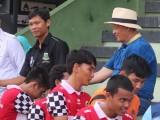 WH, Gubernur Banten yang Suka Sepak Bola
