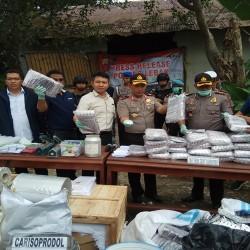 Temukan Dua Juta Butir Pil Zenit Carnophane, ini Kata Kapolda Banten