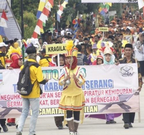 Kabupaten Serang Siap Rebut Kembali Juara Umum MTQ Banten