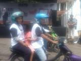 Kampanye Damai Cawalkot Serang Banyak Anak Kecil Dilibatkan