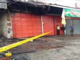Diduga Konsleting Listrik, Lima Ruko di Anyer Hangus Terbakar