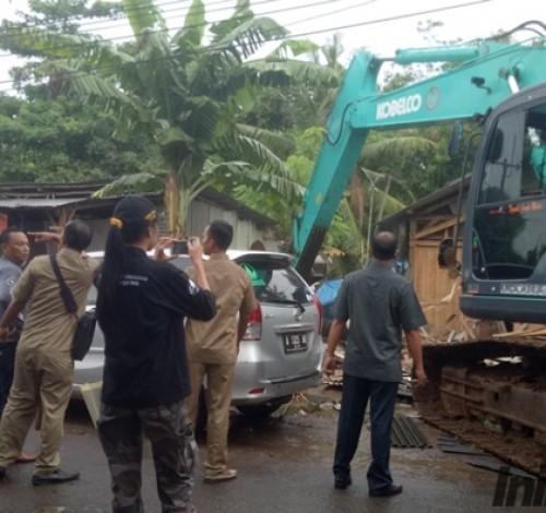 Eksekusi Lahan dan Bangunan di Ciruas Diwarnai Adu Mulut