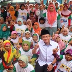Fungsionaris PPP Dukung WH-Andika, Warga Ramai-ramai TeriakTakbir