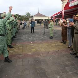 1200 Personil Personil Satpol PP dan Linmas Siap Amankan Pilkada
