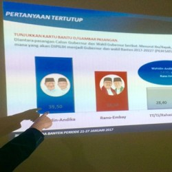 Survei LSP Indonesia: WH-Andika Diprediksi Menang di Pilkada Banten