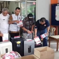 KPU Kota Tangerang Musnahkan 31.216 Surat Suara yang Rusak