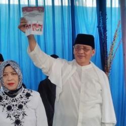 Nyoblos di TPS 2 Pinang, Cagub Wahidin Optimis Menang