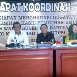 Siap Hadapi Gugatan Rano-Embay di MK, KPU Susun Alat Bukti