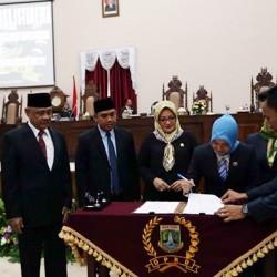 DPRD Banten Tetapkan Pasangan Gubernur dan Wakil Gubernur Terpilih