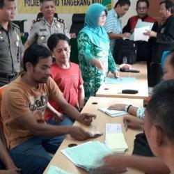 Puluhan Warga Kota Tangerang Disidang Tipiring