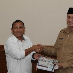 Laporkan Hasil Pilgub, WH Apresiasi Kinerja KPUD Banten