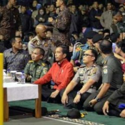 Jokowi Nobar Film G 30 S/PKI di Bogor