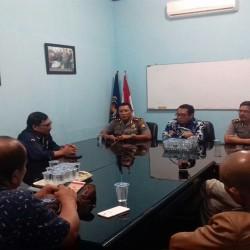 Sambangi PWI Banten,  Kapolres Kota Serang Ngaku Siap di Copot