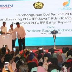 Presiden Resmikan dan Groundbreaking Proyek PLTU 4.000 Mw Senilai Rp101 T