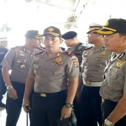 Polda Banten  Pastikan   Jalur Lintas Joko Widodo Steril