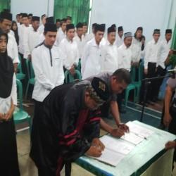 Ribuan Anggota PPS di Lantik KPU Lebak