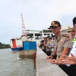 Kunjungi Pelabuhan Merak, Andika Pastikan 3 Dermaga Sudah Digunakan
