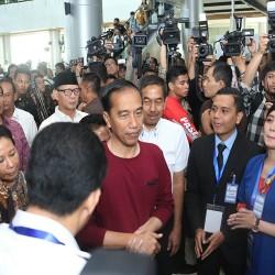 Jokowi Resmikan Kereta Api Bandara Soekarno Hatta