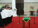 Gubernur Banten Lantik Lima Pejabat Esselon II Hasil Lelang