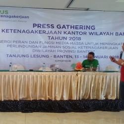 Usia Baru Seumur Jagung, BPJS TK Banten Duduki Peringkat 4 Nasional