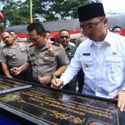 Pemprov Berikan Dana Hibah untuk Polda Banten Rp13 Miliar