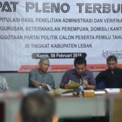 Tak Laksanakan Perbaikan, PPP Lebak Tidak Memenuhi Syarat