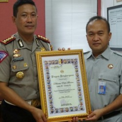 Ditlantas Polda Banten Terima Penghargaan Terbaik ke III se-Indonesia