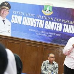 Disnakertrans Banten Gelar Penerimaan, Pelatihan dan Penempatan Kerja SDM Industri