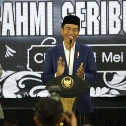 Diminta Brigjen KH Syam'un jadi Pahlawan Nasional, Jokowi: Berkasnya Belum di Meja Saya