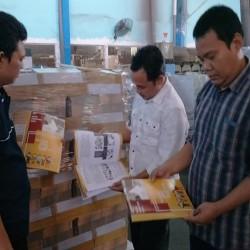 KPU Lebak Pastikan Tinta dan Buku Panduan  Dalam Keadaan Baik