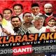 Panitia Deklarasi #2019GantiPresiden Galang Dana untuk Korban Gempa Lombok