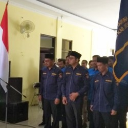 Dilantik, Wahyu Nasyar Pimpin Karang Taruna Kecamatan Kopo