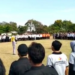 Ketua Bawaslu Kabupaten Serang Ingatkan Pengawas Hindari Intervensi Pihak Lain