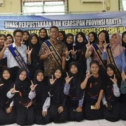 DPK Banten Ajak Siswa SMK Kota Tangerang Budayakan Membaca