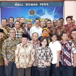 Ini Visi Baru PWI Pusat Periode 2018-2023 Lima Tahun ke Depan