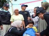 Relawan PMI Kota Serang Bawa Ribuan Paket Bantuan ke Lombok