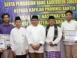 Gagal Juara Umum, Kafilah Banten Terima Uang Kadeudeuh
