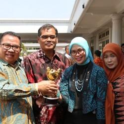 Wujudkan Kesetaraan Gender, Pemprov Banten Raih Penghargaan dari Kementrian
