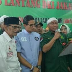 Puluhan Caleg PBB Deklarasi Dukung Prabowo-Sandi