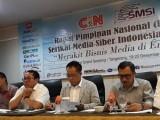 Rapimnas SMSI ke-4 Angkat Tema Merakit Bisnis Media di Era Digital