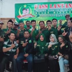 Dukung Prabowo-Sandi, Caleg PBB di Banten Bentuk Pass Lantang