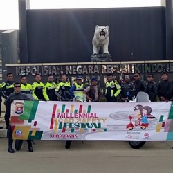 Komunitas di Lebak Ikut Sosialisasikan MRSF Polda Banten