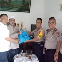 Jelang Pemilu, Pejabat Polres Serang Gencar Kunjungi Ponpes dan Ulama
