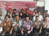 Ketua dan Pengurus PPDI Kecamatan Jawilan Dilantik