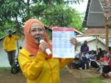 Sarimaya Caleg DPR RI Partai Berkarya Memberi Bukti Membangun Ekonomi Rakyat