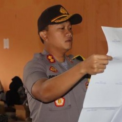 Kapolres Cek Logistik Pemilu di Gudang KPU Kabupaten Serang