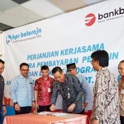 Layani Pensiunan, Bank Banten Jalin Kemitraan dengan BPR Baturaja