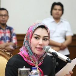 Andiara Raih Suara Terbanyak Calon DPD Dapil Banten, Anak Gubernur Gagal