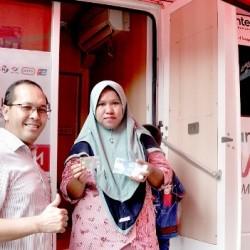 Bank Banten Bersama Pemprov Kembali Salurkan Jamsosratu